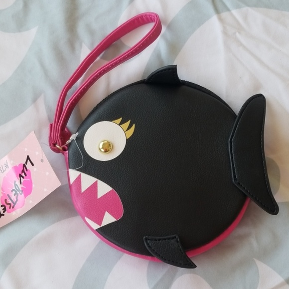 Betsey Johnson Handbags - Betsey Johnson piranha coin purse